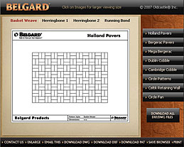 Belgard Patterns DXF and DWG